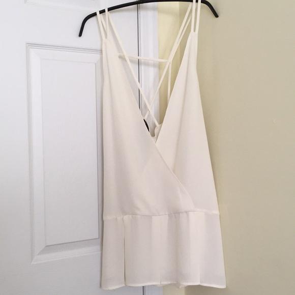 Nasty Gal Dresses & Skirts - Nasty Gal deep V dress